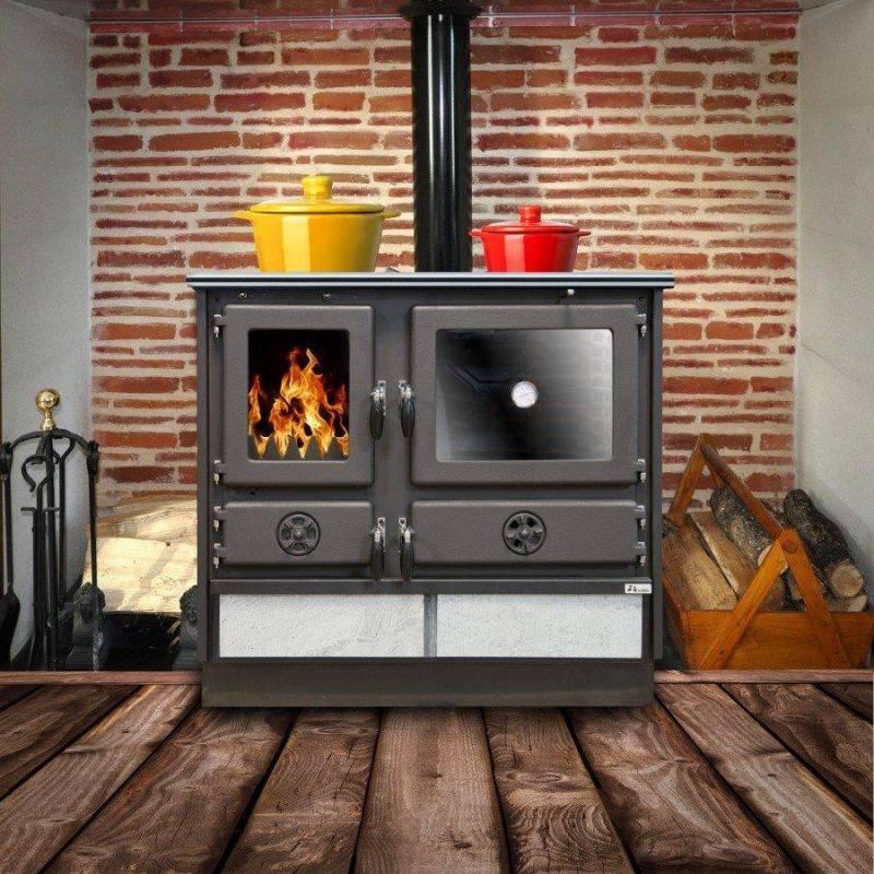 Печи для отопления дома: газовая, дровяная, чугунная и т.д.