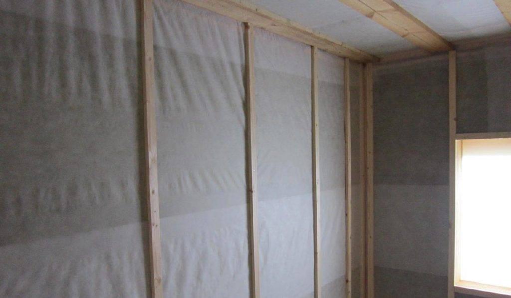 Принцип работы пароизоляции в каркасном доме - строим сами