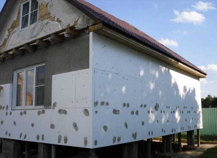 Утепление дома снаружи – наружное утепление стен своими руками