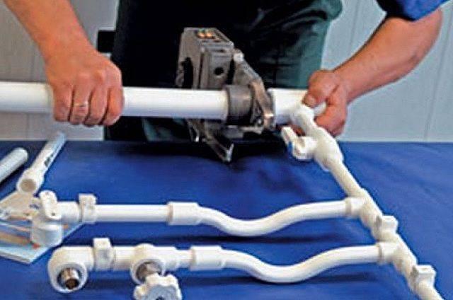 Монтаж полипропиленовых труб для отопления частного дома