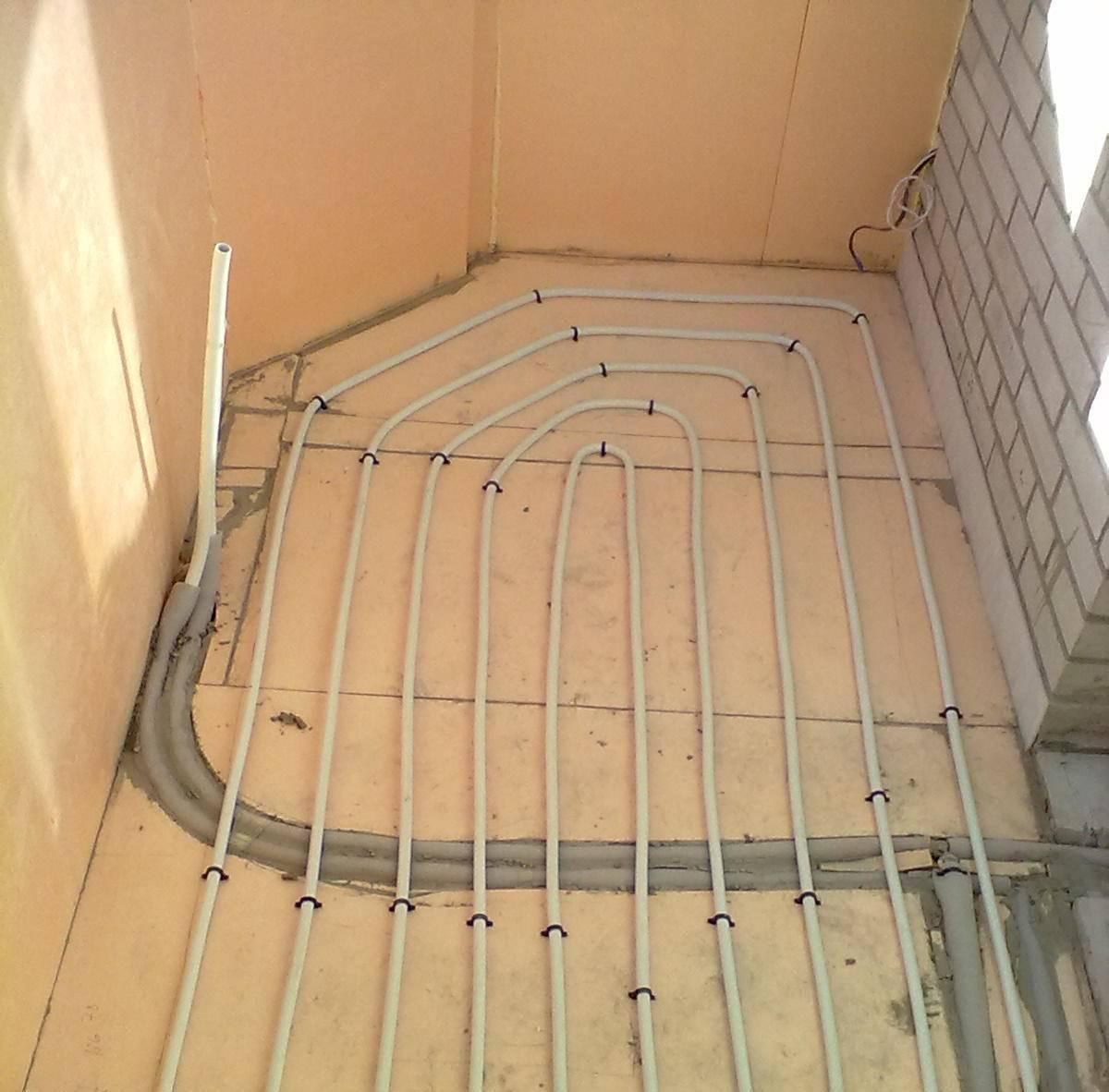 Тёплый пол на балконе: какой лучше для лоджии и как уложить своими руками