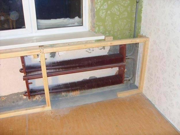 Как и чем закрыть радиаторы отопления. фото красивых экранов и интересных идей