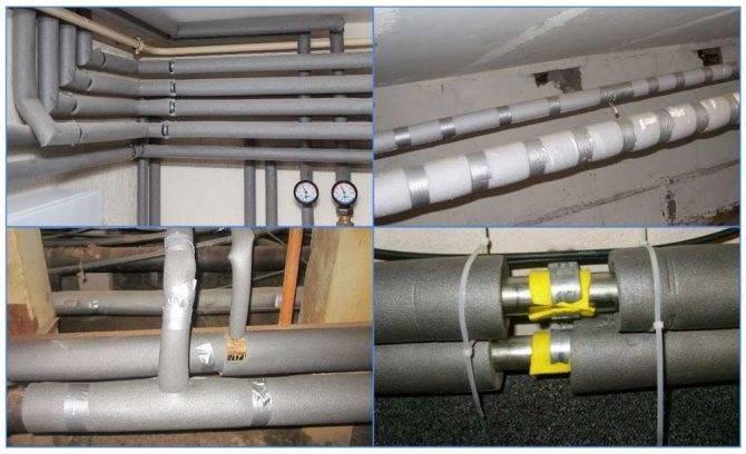 Утеплитель для полипропиленовых труб: виды и применение