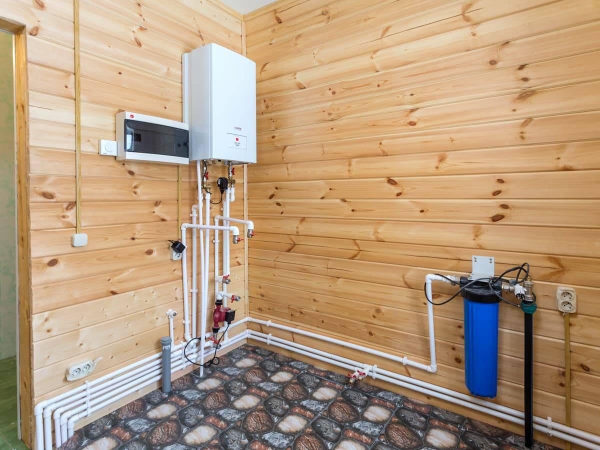 Отопление в деревянном доме - 100 фото организации экономичного варианта