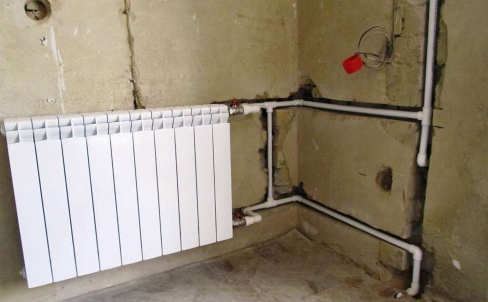 Установка труб отопления в квартире - основные виды материала