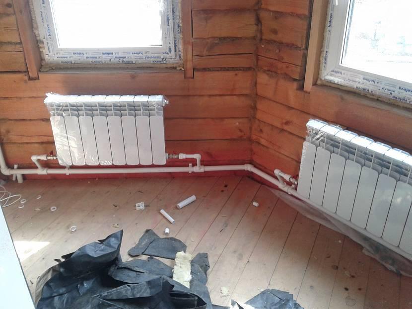 Отопление ленинградка из полипропилена своими руками: схемы, описание