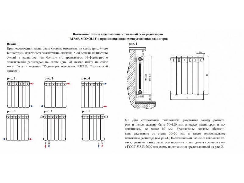 Как снять секцию с биметаллического радиатора
