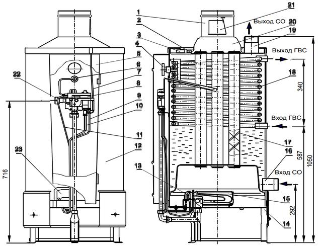 Газовые котлы для отопления для частного дома: выбор отопительного котла, напольные и настенные на газу, как подобрать