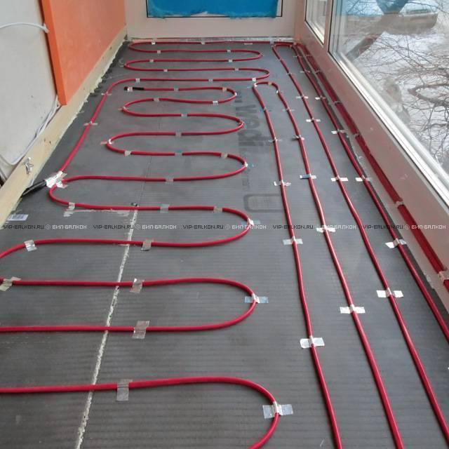 Как сделать теплый пол на балконе или лоджии своими руками