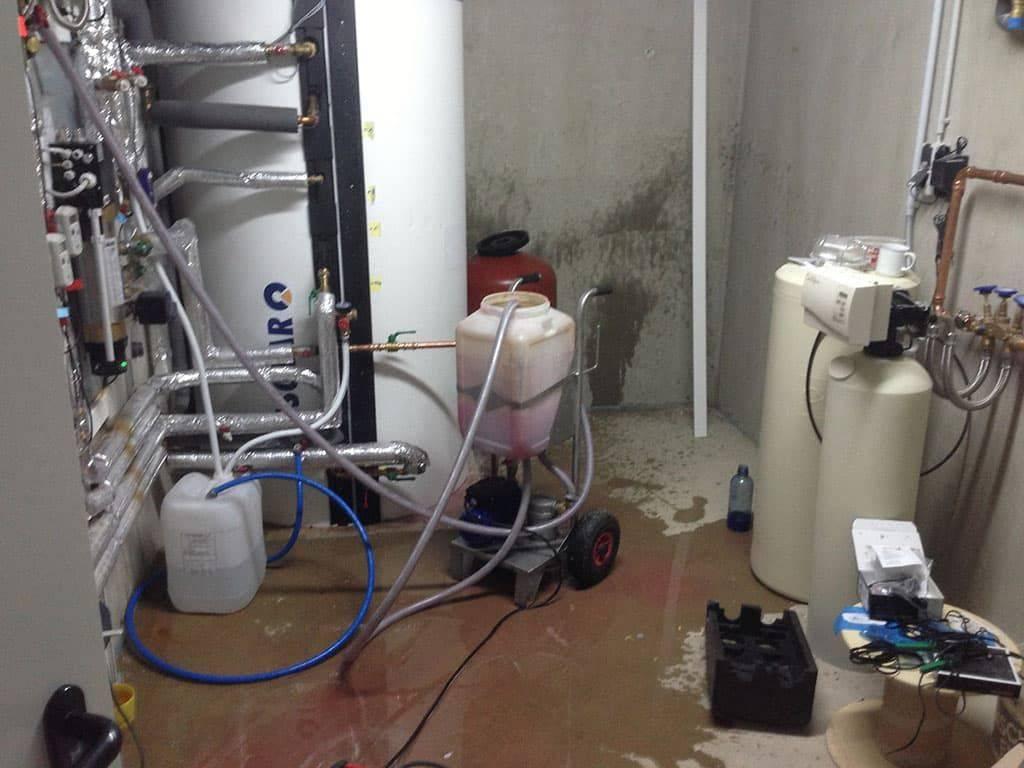 Промывка системы отопления частного дома - система отопления