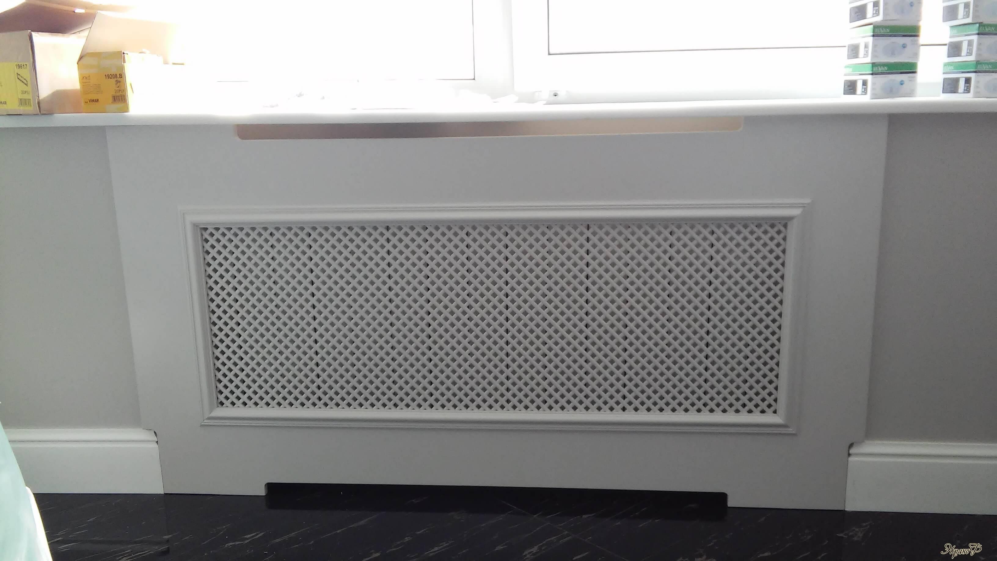 Декоративные экраны для батарей отопления: как выбрать и установить