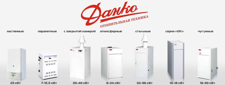 Модельный ряд газовых котлов марки «лемакс»