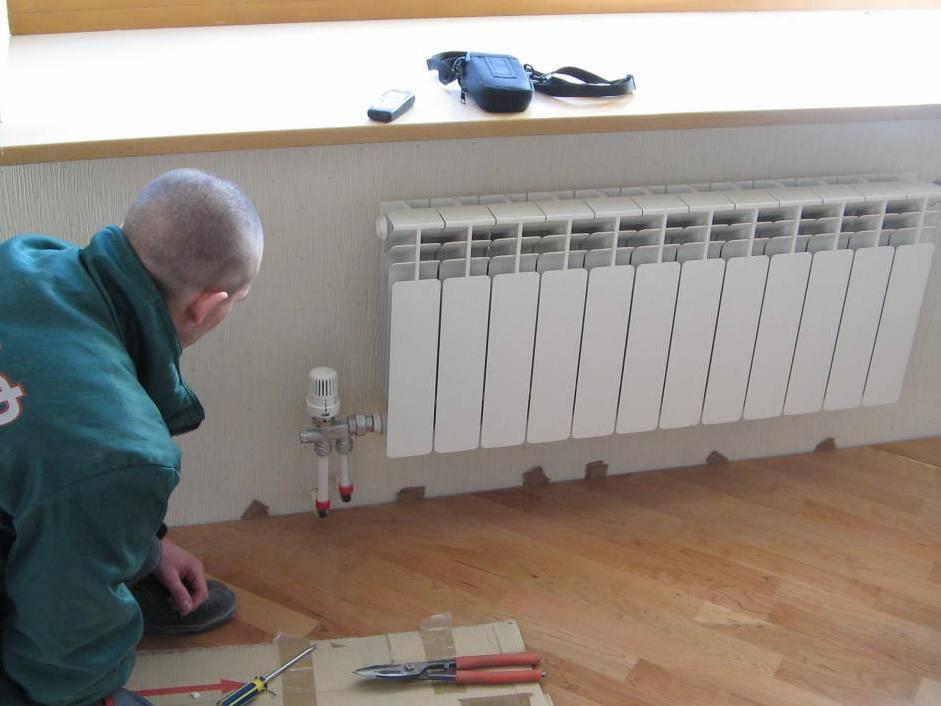 Установка батарей в квартире – работа, доступная непрофессионалу