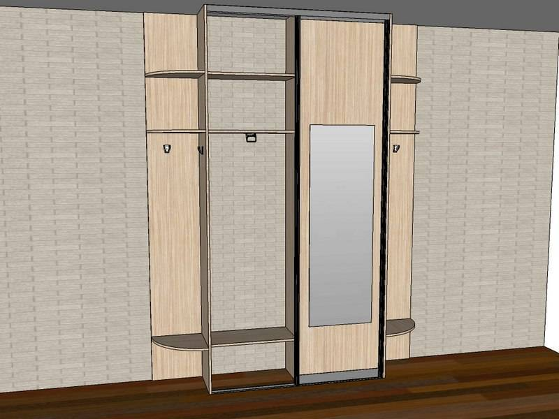 Как выбрать шкаф в прихожую - выбираем материал, стиль и место