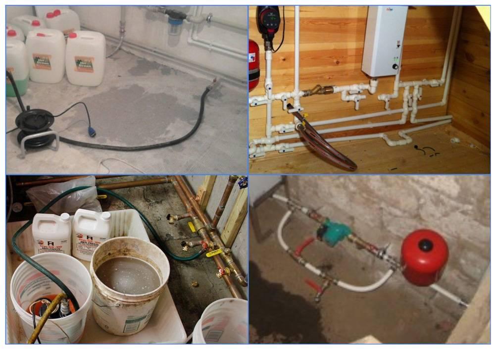 Заполнение системы отопления закрытого типа: как правильно заполнить теплоносителем в частном доме, антифризом или водой
