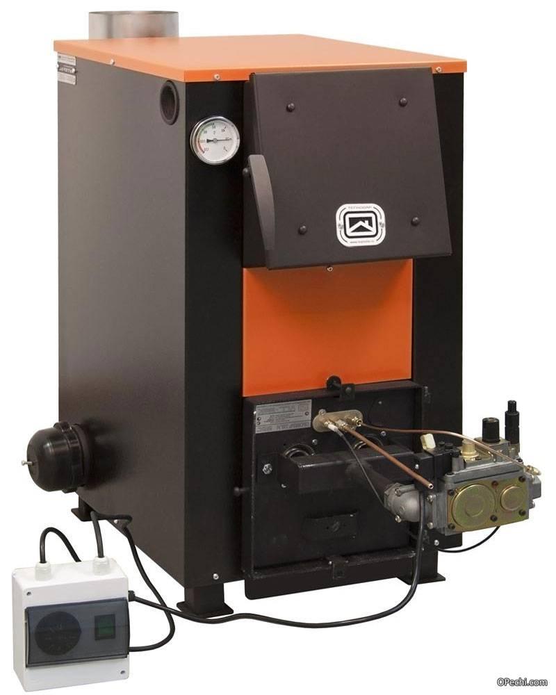 Комбинированные котлы: дрова-электричество, твердое топливо-газ и другие универсальные устройства