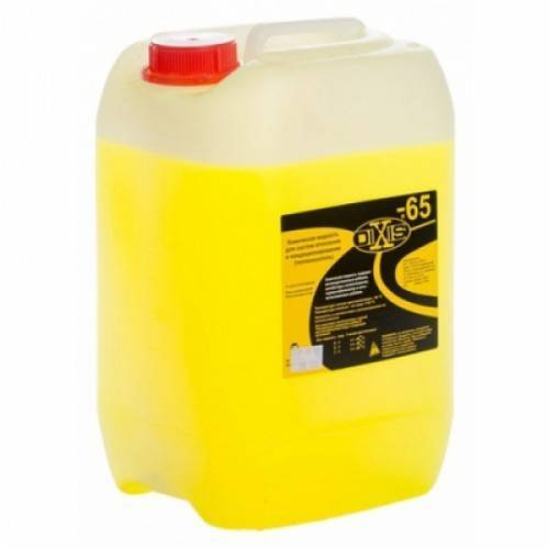 Подобор незамерзающей жидкости для систем отопления