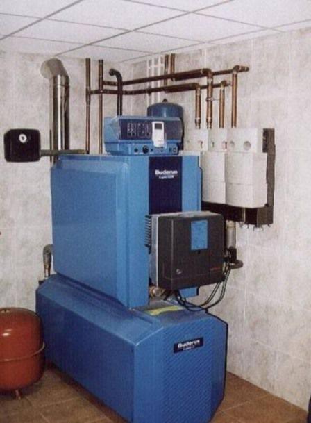 Дизельный котел отопления: принцип работы, монтаж, особенности