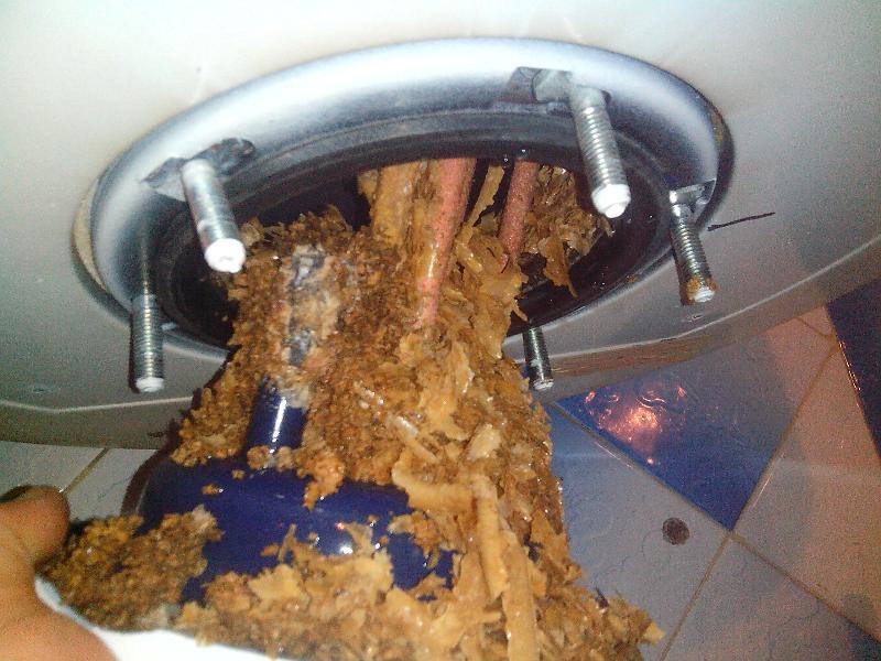 Как почистить водонагреватель (бойлер) от накипи в домашних условиях