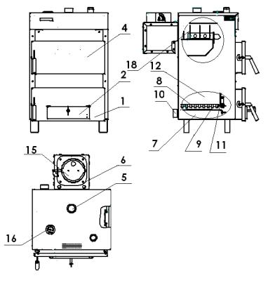 Твердотопливные котлы дон: особенности, обзор дровяной модели кс т 16
