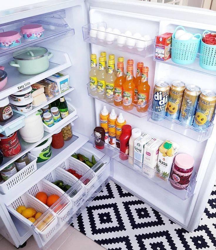 Как организовать пространство внутри холодильника   о еде, вкусной и полезной