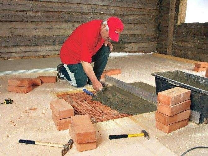 Устанавливаем камин в деревянном доме, соблюдая правила пожаробезопасности