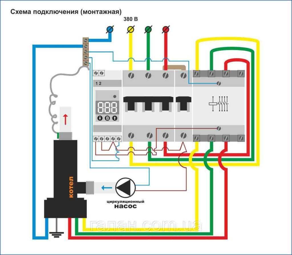 Автоматика для отопления электрическими и газовыми котлами, насосами