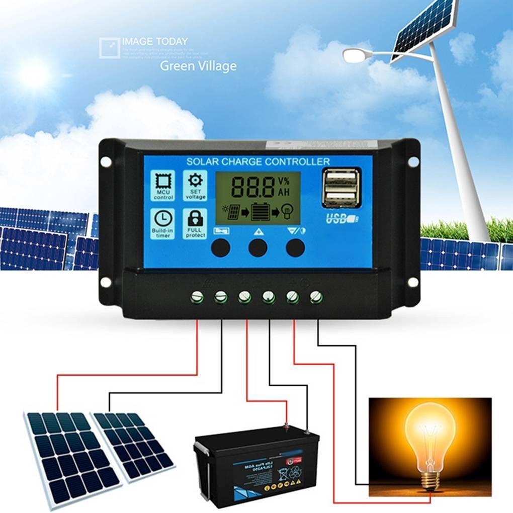 Контроллеры заряда по технологии mppt и pwm для солнечных батарей