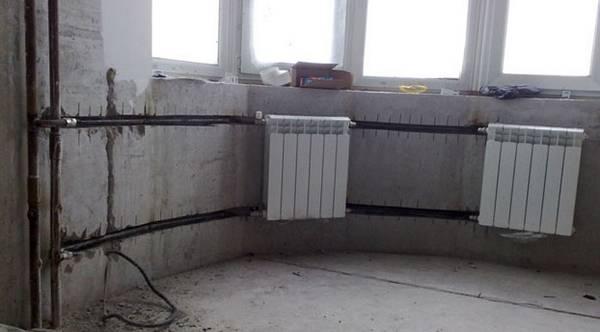 Стояковая система отопления - устройство на примерах