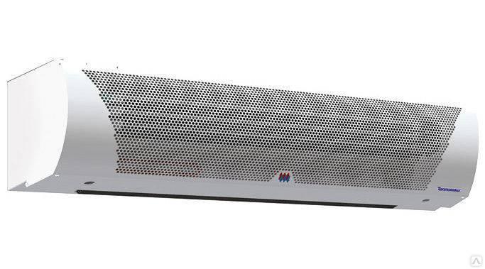 Вертикальные тепловые завесы: электрические, водяные и воздушные модели для ворот, напольные установки на 5 квт и другой мощности
