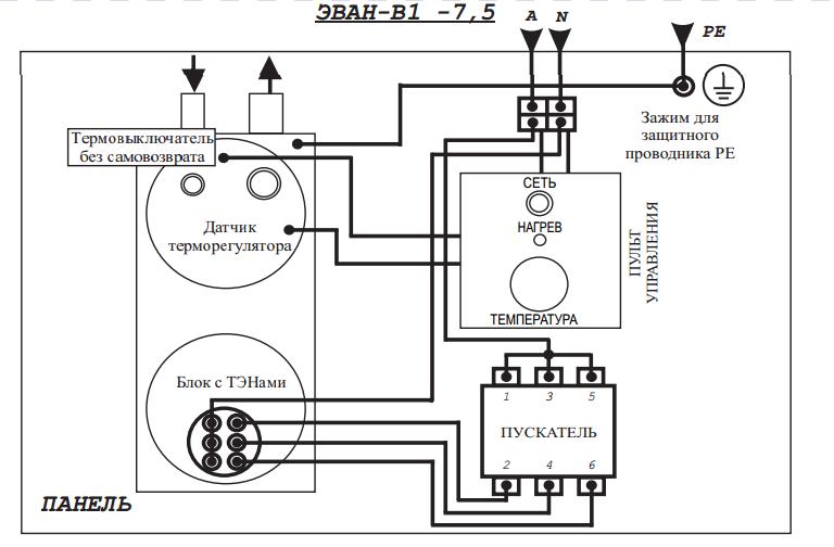 Автоматика для электрокотла, терморегулятор и стабилизатор