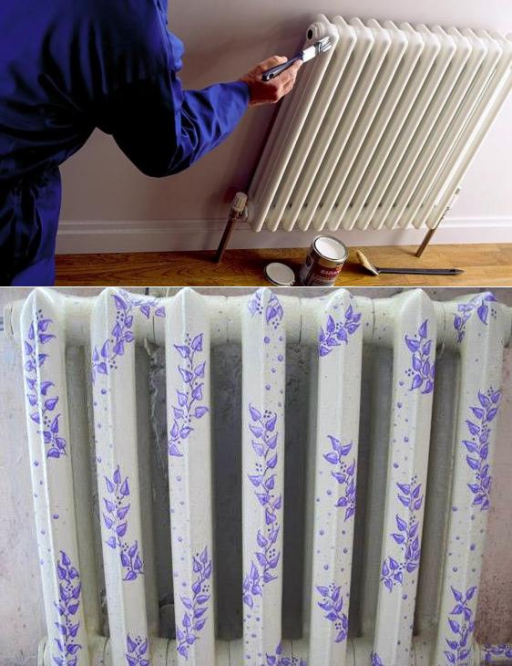 Можно ли красить горячие батареи краской или эмалью?