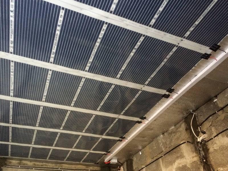 Потолочное инфракрасное отопление: инфракрасные панели отопления дома