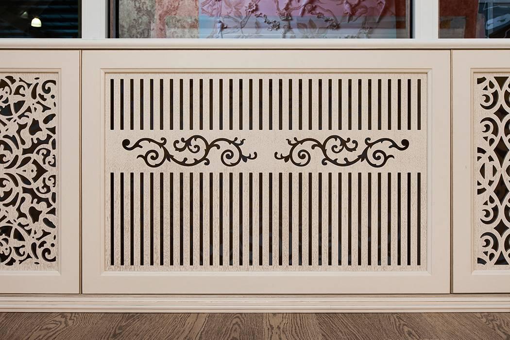 Декоративные дизайнерские решетки для батарей и радиаторов отопления