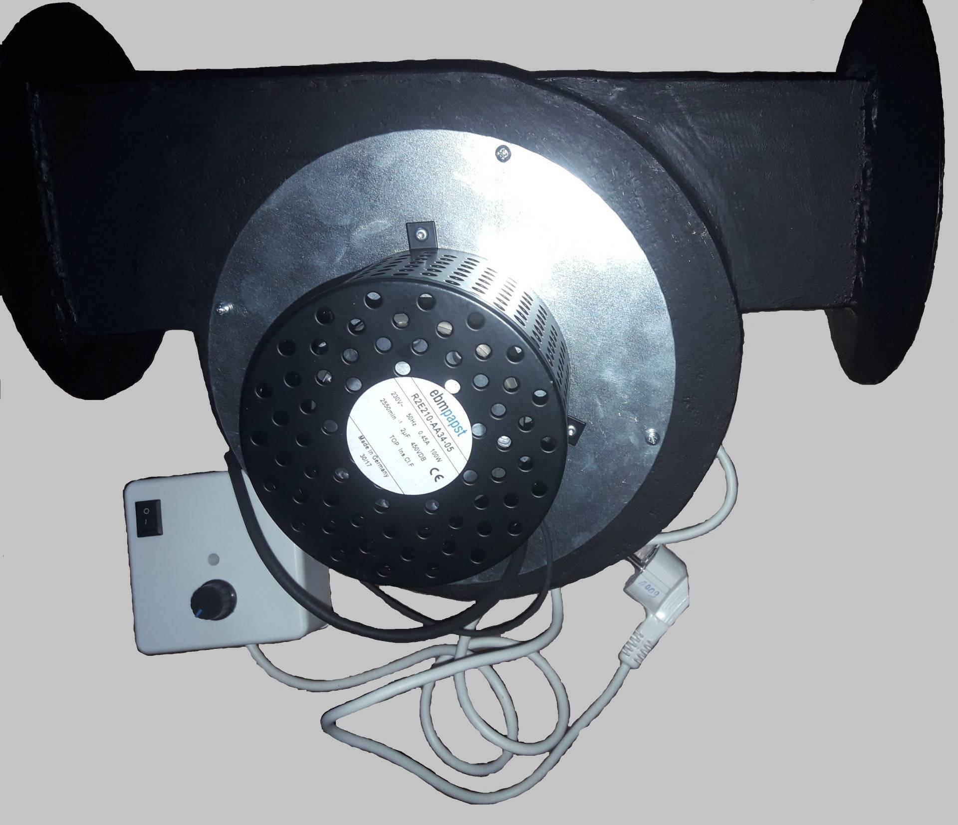 Вентилятор для котла на твердом топливе: виды, выбор, изготовление