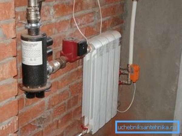 Система отопления гаража на тосоле