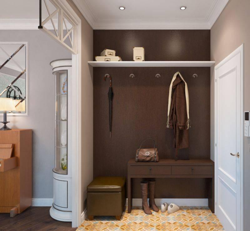 Оформляем прихожую в двухкомнатной квартире – варианты красочного дизайна