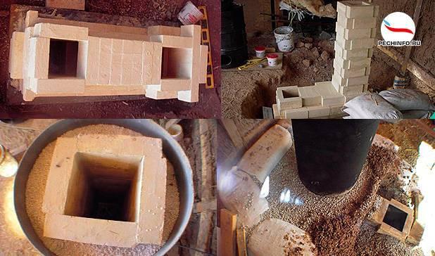 Легко изготовить, удобно пользоваться. муфельная печь для обжига керамики
