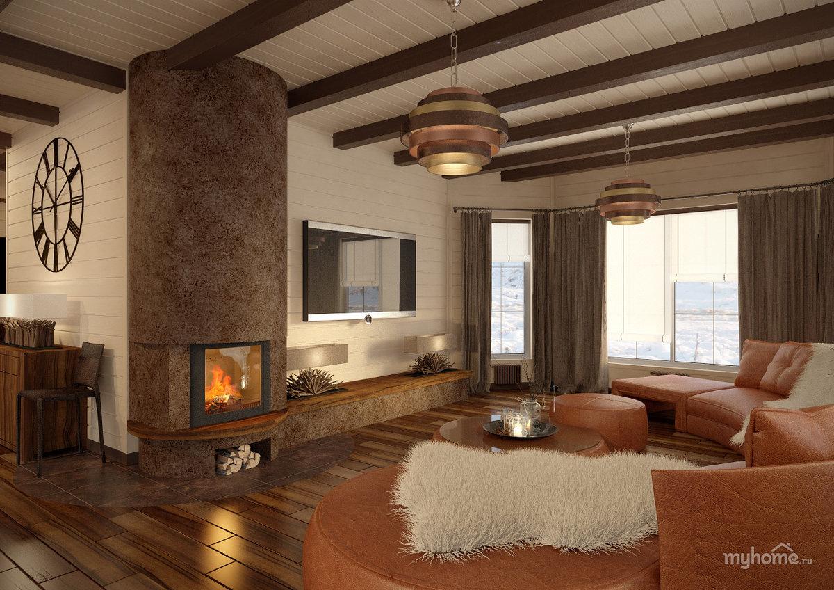 Камин в деревянном доме: установка, устройство кирпичного и  металлического камина, печка в доме из бревна своими руками, как сделать на дачу из кирпича, монтаж