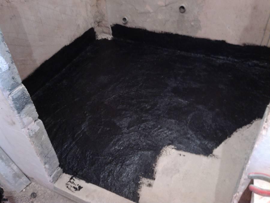 Гидроизоляция пола в квартире перед стяжкой