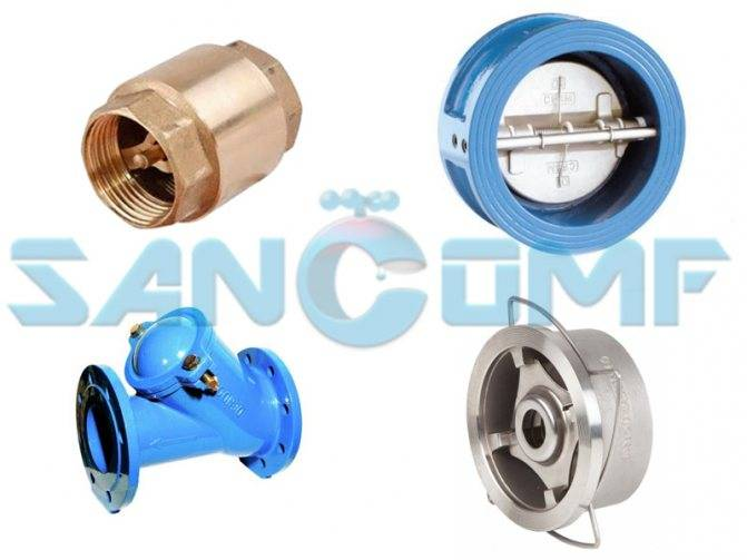 Обратный клапан для систем отопления: типы, устройство, принцип действия   гид по отоплению