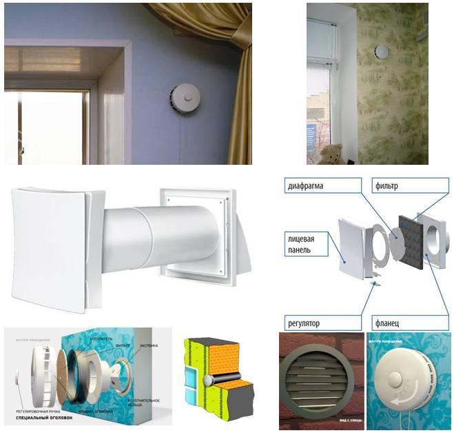 Устройство вентиляции в квартире с фильтрацией