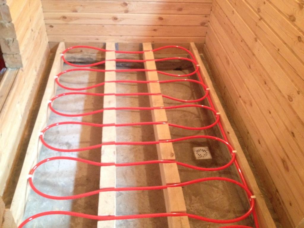 Теплый пол в деревянном доме с деревянными перекрытиями - как сделать? теплый пол в деревянном доме с деревянными перекрытиями - как сделать?