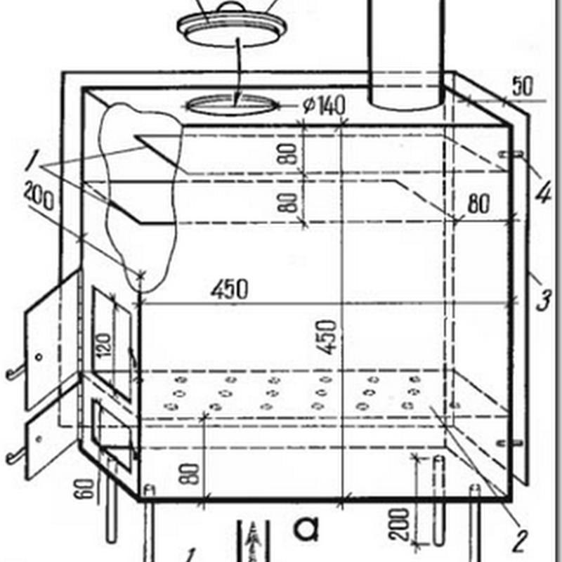 Как сложить печь из кирпича для дома или дачи