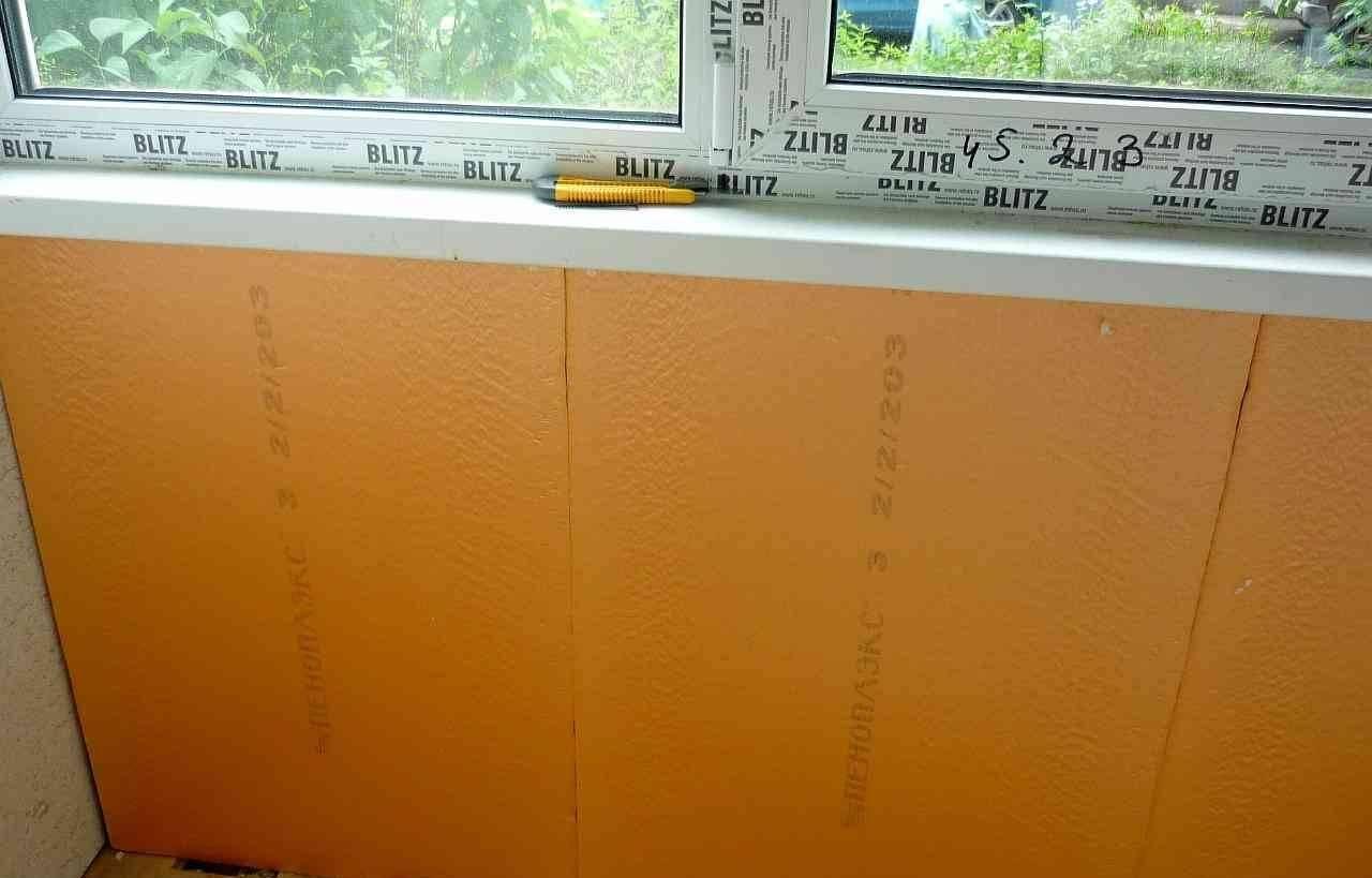 Утепление балкона пеноплексом своими руками: видео, инструкции