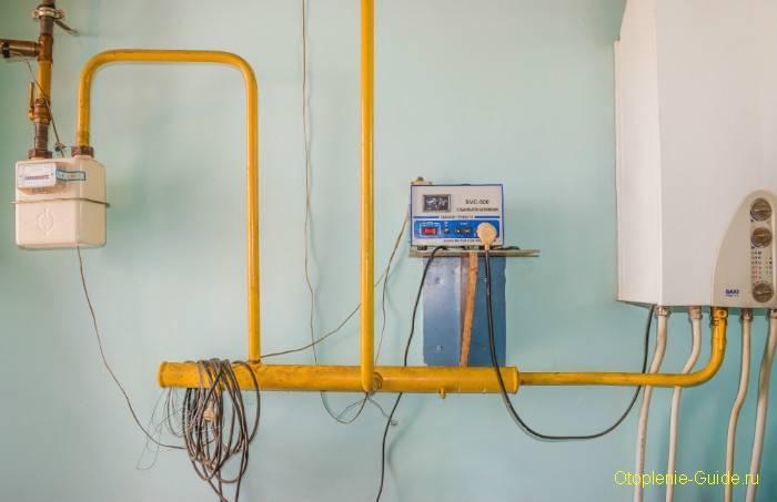 Нужен ли на самом деле стабилизатор для газового котла ? - самстрой - строительство, дизайн, архитектура.