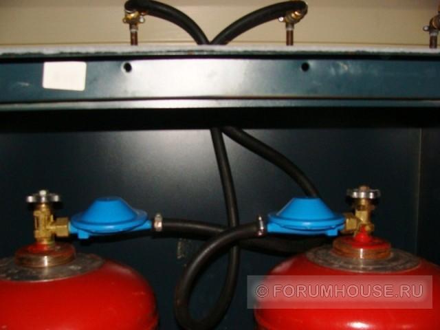 Отопление частного дома газовыми баллонами – все возможные виды