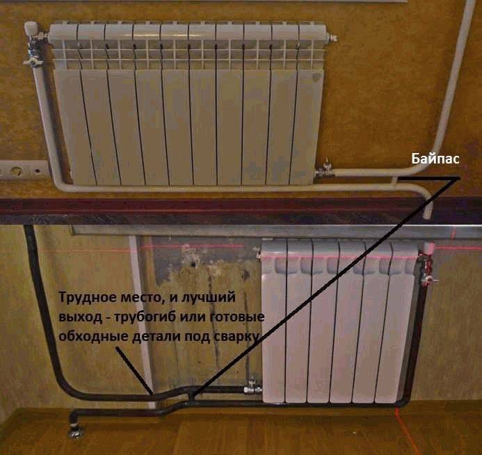 Как соединить чугунную батарею с пластиковой трубой отопление?