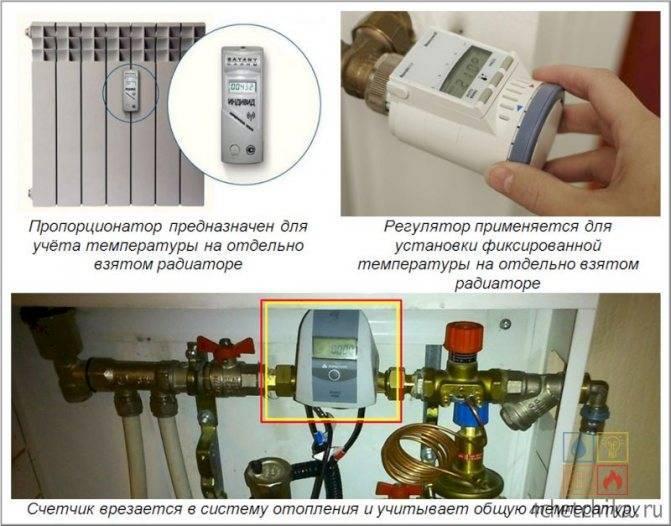 Как поставить счетчики на отопление в квартире