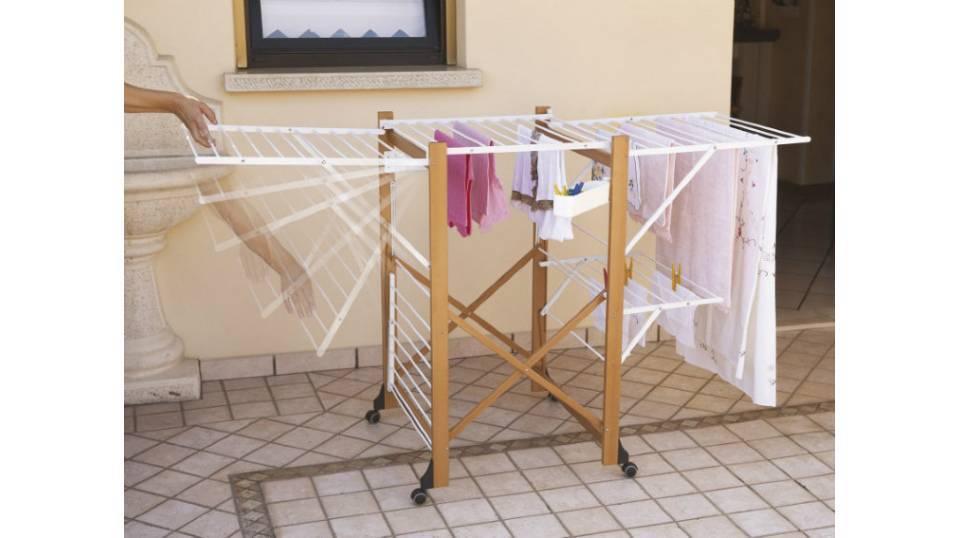 Сушилка для белья своими руками — изготовление складных моделей и советы как построить сушилку (видео + 105 фото)